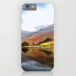 Buttermere (Painting) iPhone Case