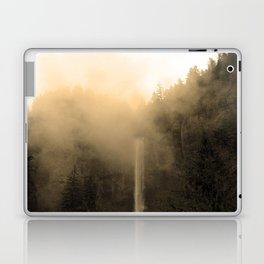 Foggy Multnomah Falls Laptop & iPad Skin