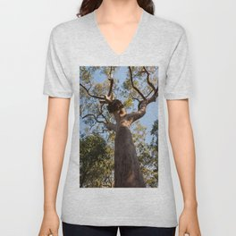 Scribbly Gum Tree, Muogamarra Reserve, Sydney Unisex V-Neck