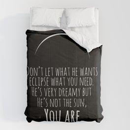 He's not the sun - Grey's Anatomy Comforters