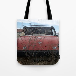 Beat Up Car Tote Bag