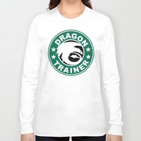 hiccup Long Sleeve T-shirts featuring Dragon trainer by Ainy A.