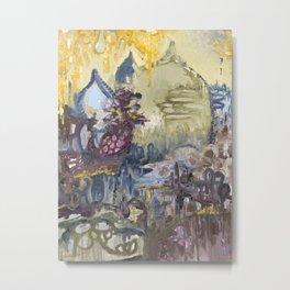 Ashcan // Adventure Metal Print