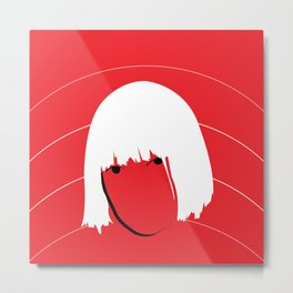 Girls Like Sia  Metal Print