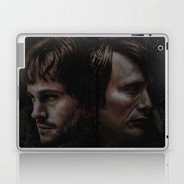 Hannibal Lecter and Will Graham - Anatomy of Insanity Laptop & iPad Skin