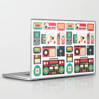 technology Laptop & iPad Skins featuring Retro Technology 1.0 by Ralph Cifra