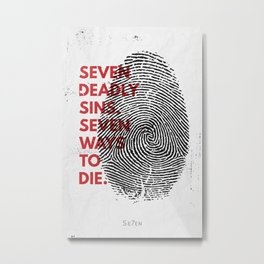 Se7en Metal Print