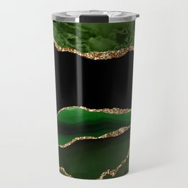 Emerald Marble Glamour Landscapes Travel Mug