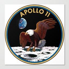 Apollo 11 insignia Canvas Print