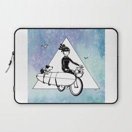 """ Dream. Bike. Surf "" Laptop Sleeve"