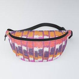 Ikat pattern Fanny Pack