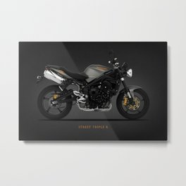 The Street Triple R Metal Print