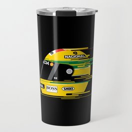 Ayrton Senna Helmet Travel Mug