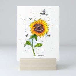 Sunflower 2 Mini Art Print