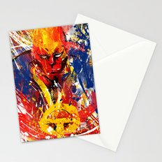 Red T Stationery Cards