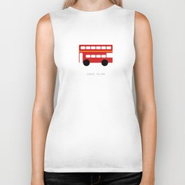 London Red Bus Biker Tank