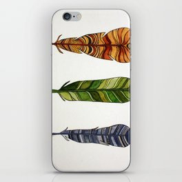 Feather Trio iPhone Skin