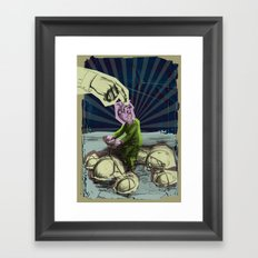 Lost in your mind Framed Art Print