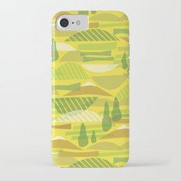 Italian Countryside iPhone Case