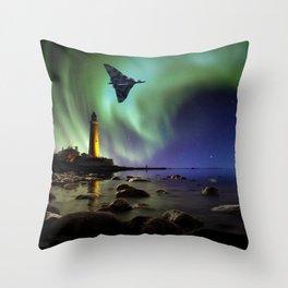 Auroral Splendour For The Vulcan Throw Pillow