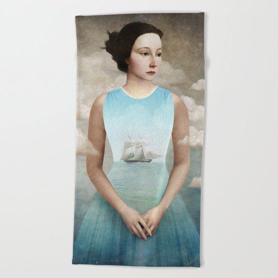 Inner Ocean Beach Towel