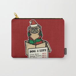 Dog 4 Life - Christmas Carry-All Pouch