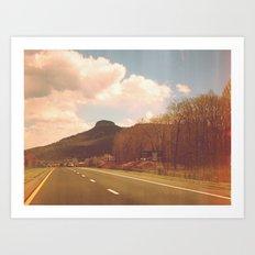 route 52 Art Print