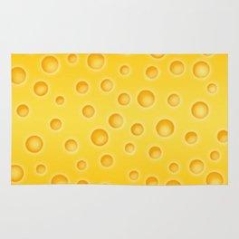 Swiss Cheese Texture Pattern Rug