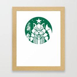 Starfox Coffee Framed Art Print