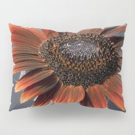 Dark Sunflower Pillow Sham