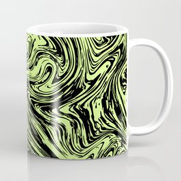 Marble pattern yellow pastel Coffee Mug