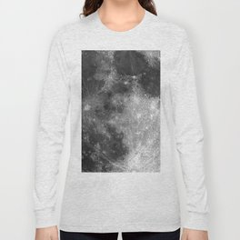 Black & White Moon Long Sleeve T-shirt