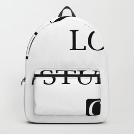 Student Of Love Experiences Backpack