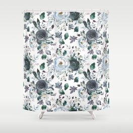 Azul are you with me? Shower Curtain
