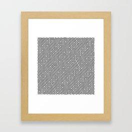 Op Art 150 Framed Art Print