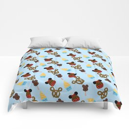 Snack Goals Theme Parks Comforters