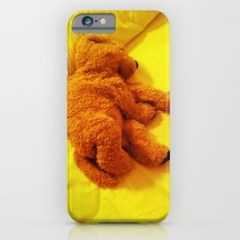 Love is... Teddy dog iPhone Case