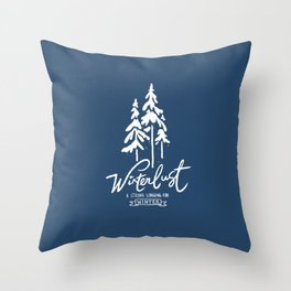 winterlust Throw Pillow