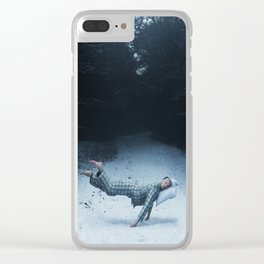 An Underwater Spell Clear iPhone Case