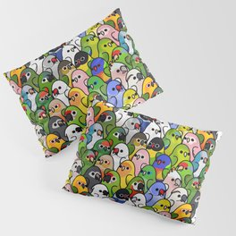 Too Many Birds!™ Bird Squad 2 Pillow Sham