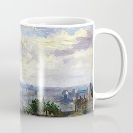 Vincent van Gogh - View Of Paris - Digital Remastered Edition Coffee Mug