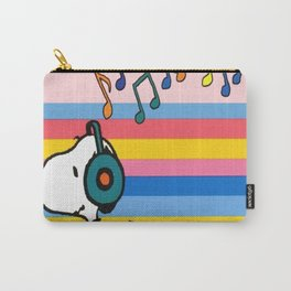 Snoopy and Skateboard Carry-All Pouch