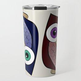 Sofia's Owls Travel Mug