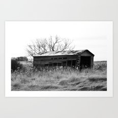Old Barn House Art Print