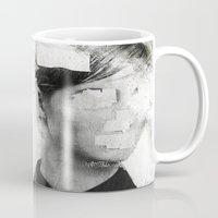 number Mugs featuring Faceless | number 01 by FAMOUS WHEN DEAD
