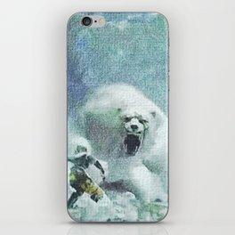 Scaring bear - 吓唬马 iPhone Skin