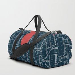 Drips (navy) Duffle Bag