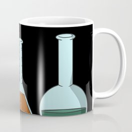 Flask stoppers test tube chemistry Coffee Mug