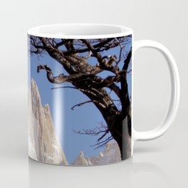 Fitz Roy Mountain Landscape (Patagonia, South America) Coffee Mug