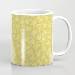 Gold Floral Bouquets Coffee Mug